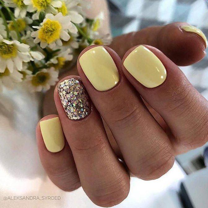 ногти, маникюр, дизайн ногтей, гель лак, ногти фото, Стильный дизайн коротких ногтей