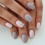 Модный дизайн коротких ногтей